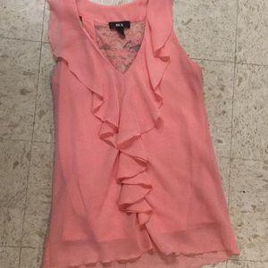 A pink bcx top